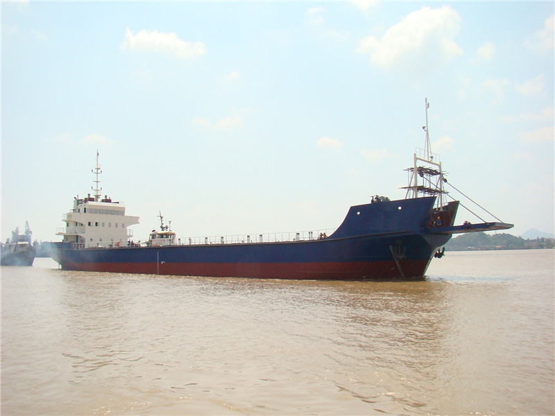 3500DWT self propelled deck barge